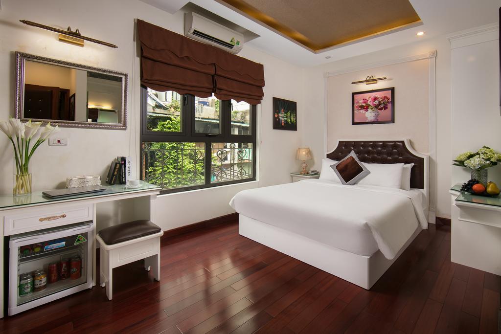 Phòng nghỉ với nội thất cao cấp, thiết kế sang trọng, đầy tiện nghi