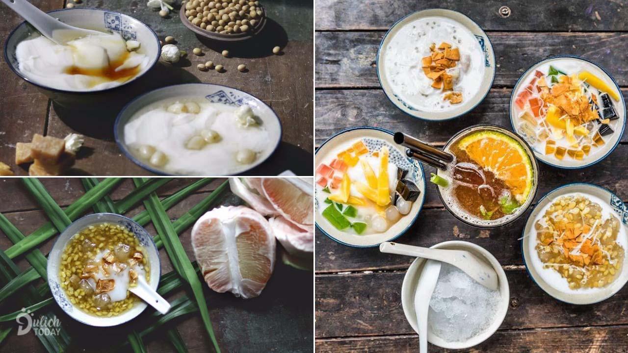 Những món chè, tào phớ Việt Nam là điểm ấn tượng mang du khách tới Lutulata