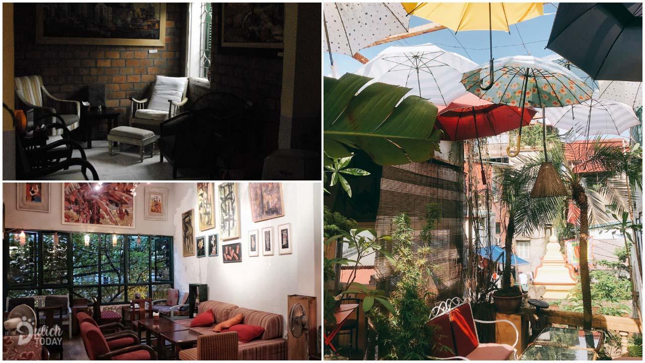 Khó có thể tìm được một quán cafe yên tĩnh Hà Nội phố cổ như Nola Cafe