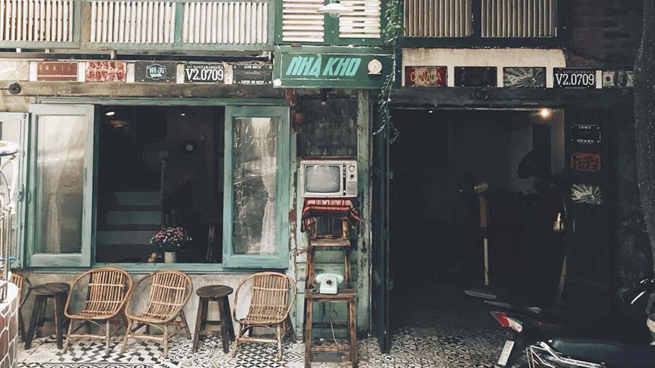 Cafe nhà kho với thiết kế vintage cùng không gian ấm áp, tinh tế. Nguồn: Internet