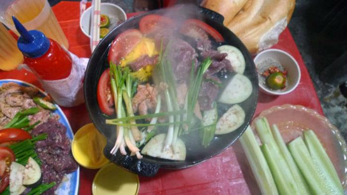món bò nướng tại quán Bò Nướng Xuân Xuân ảnh1