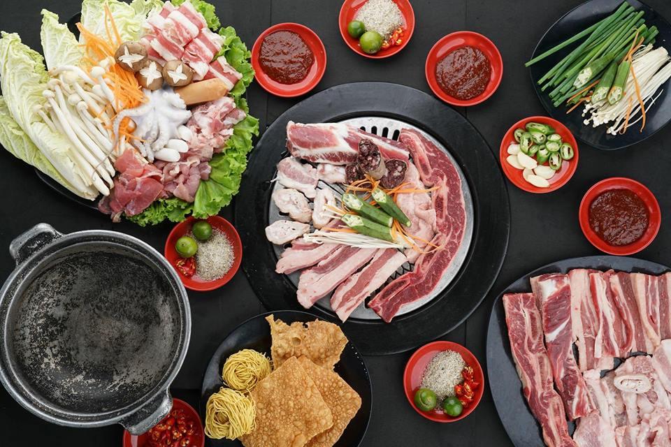 món nướng tại quán Jeju Korean BBQ ảnh1