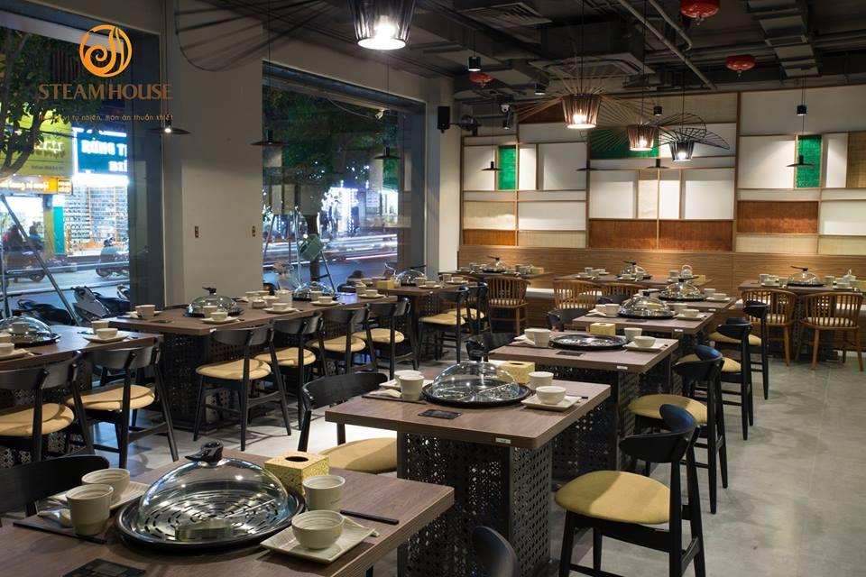 không gian Steam House Restaurant