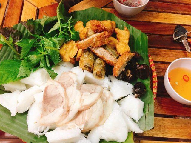Bún đậu mắm tôm Nghĩa Tân