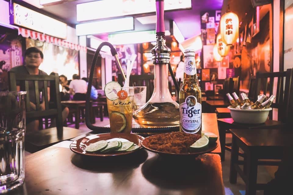 menu do nhau o pho kabuki