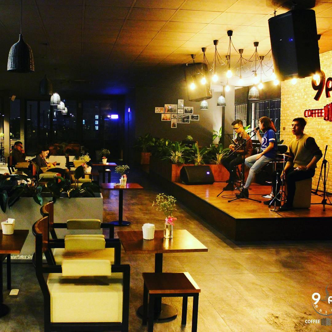 9 pm coffee lounge muzik phong tra ha noi