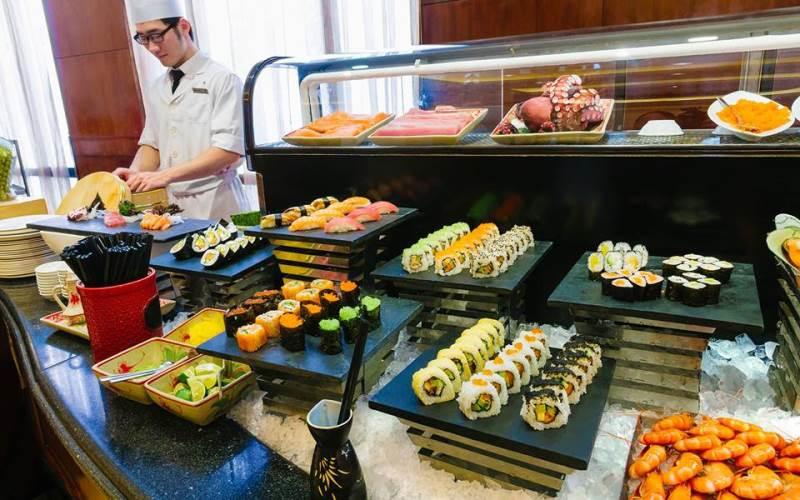 buffet Sheraton Hà Nội