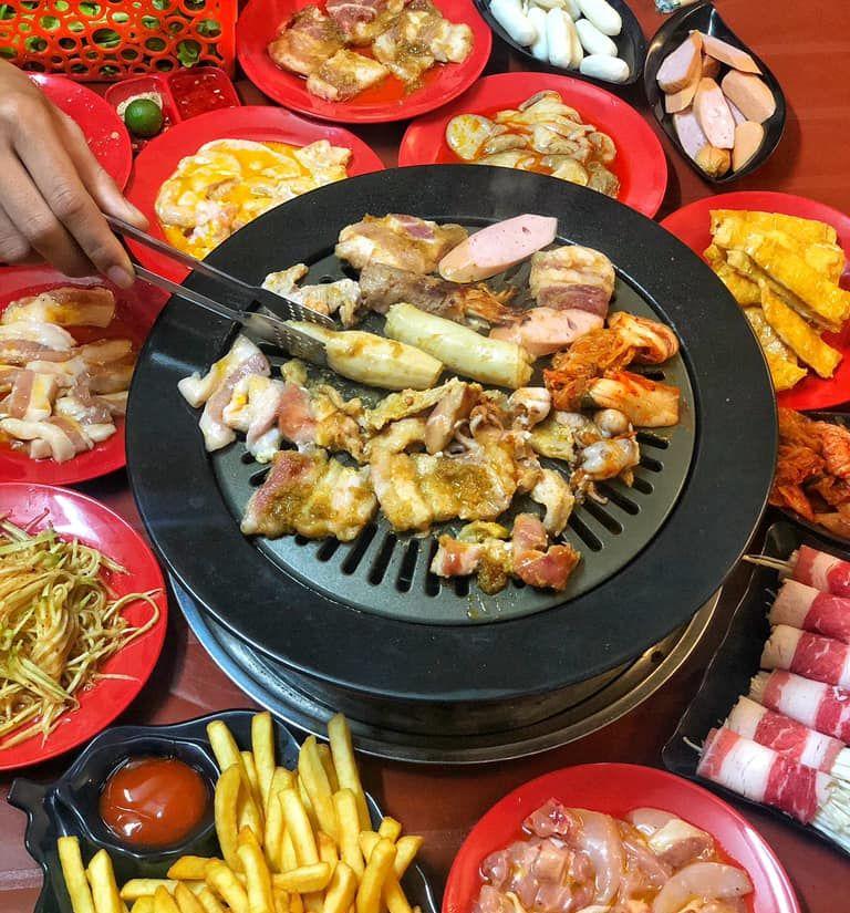 nuong korea lau thai