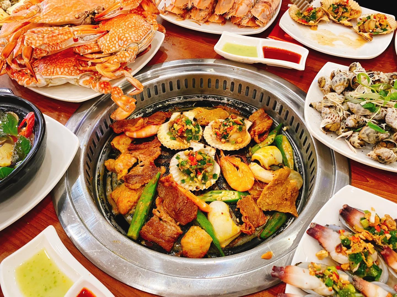 posseidon buffet hai san ha dong