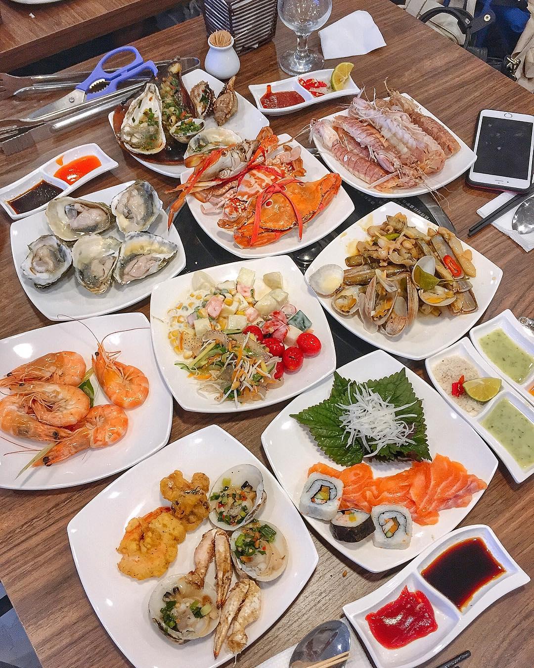 buffet ha dong dragon sea