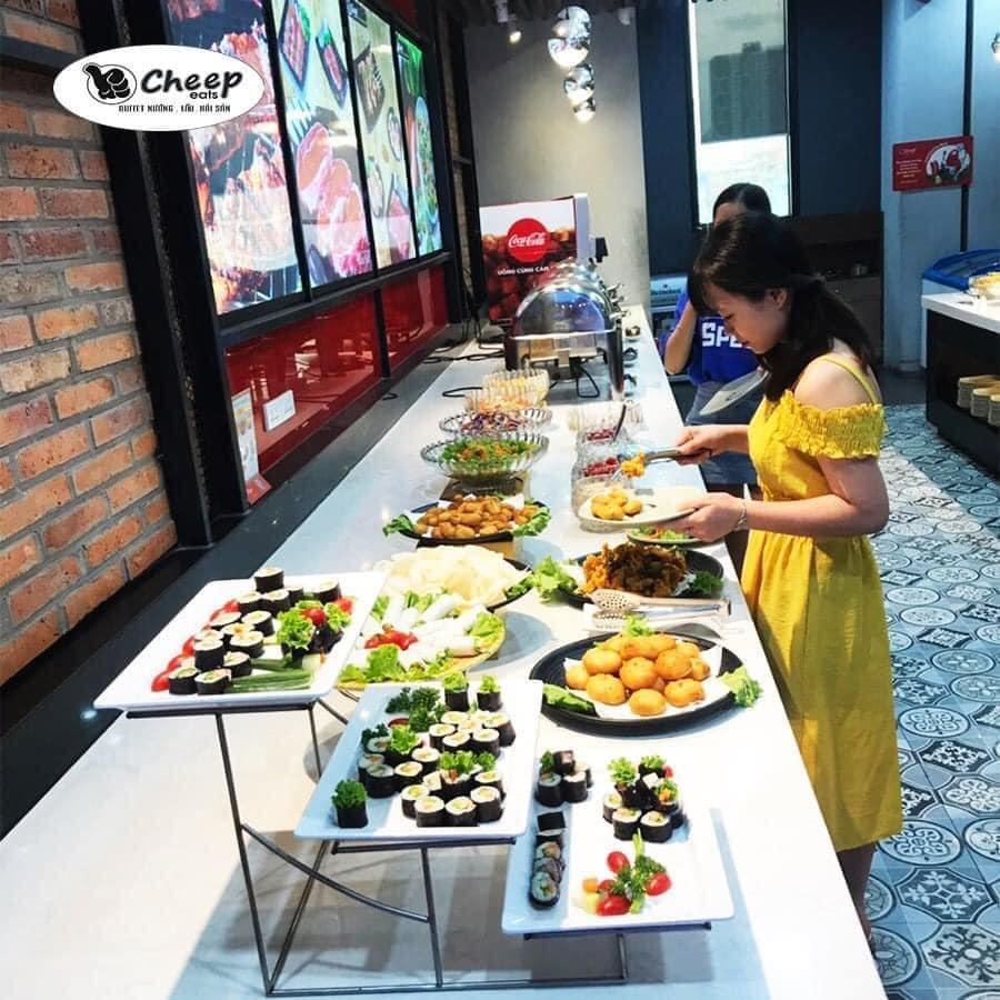 buffet hai san ha dong