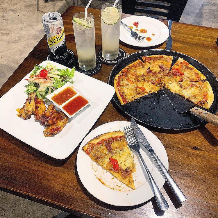 alfresco pizza tran thai tong