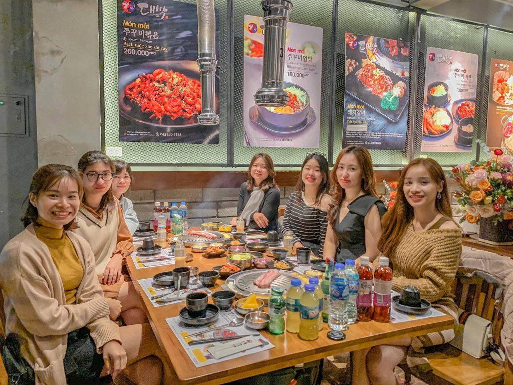 nha hang Daebak - Korea Restaurant