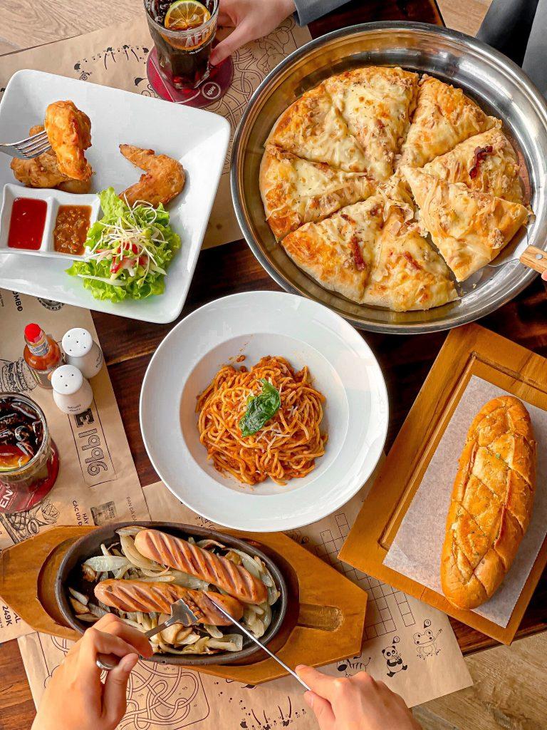 pizza tran thai tong