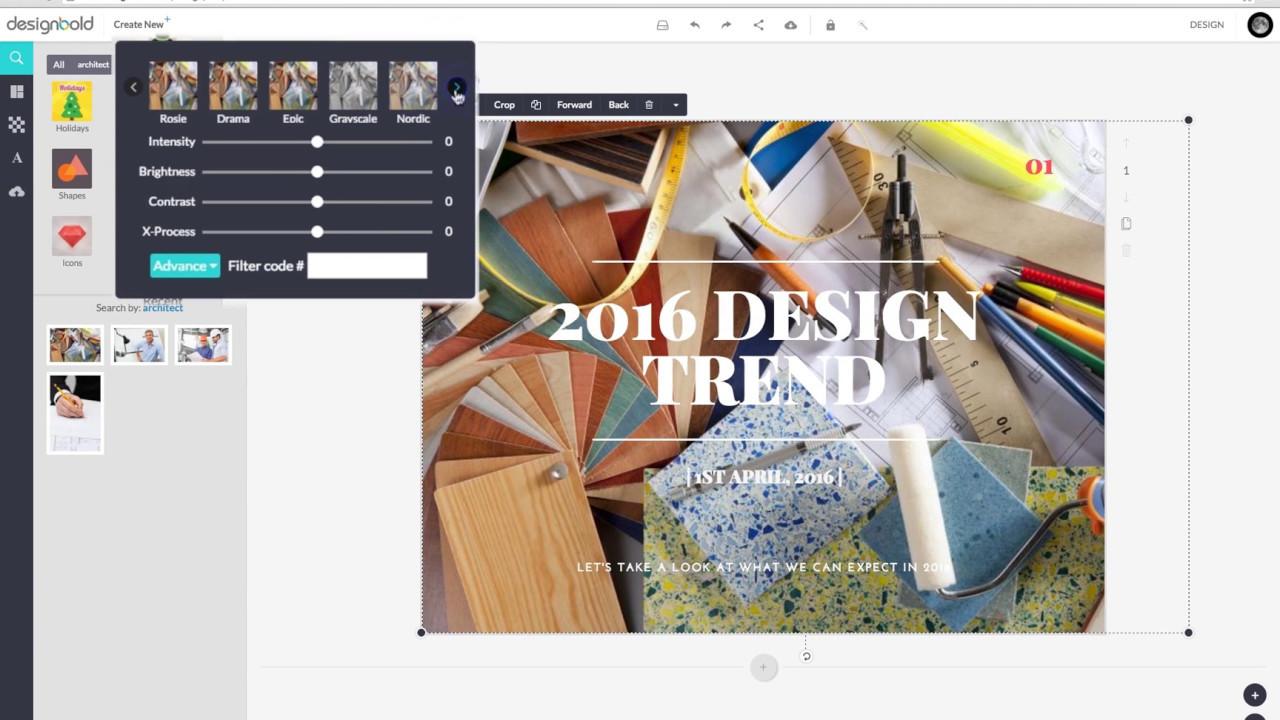 How to Easily Create a  beautiful Design using DesignBold