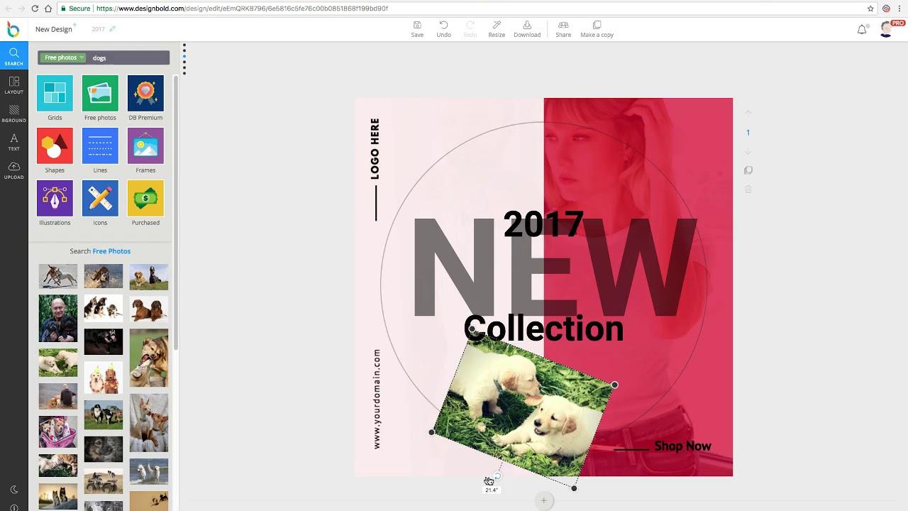 DesignBold - AppSumo demo