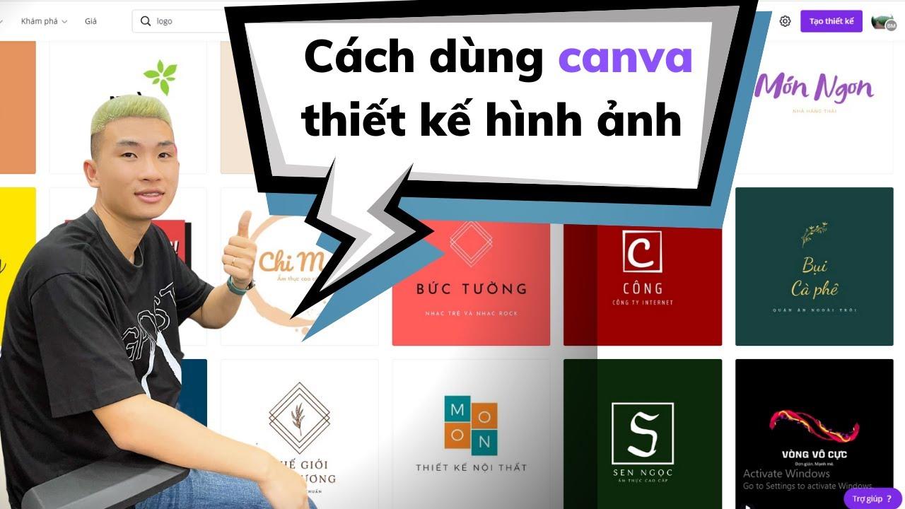 Cách dùng canva thiết kế hình ảnh không cần biết photoshop p1