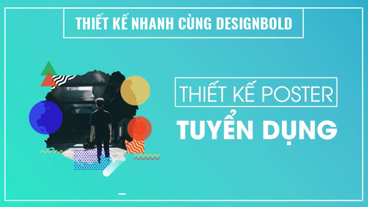 [Ý tưởng] Thiết kế Poster Tuyển dụng