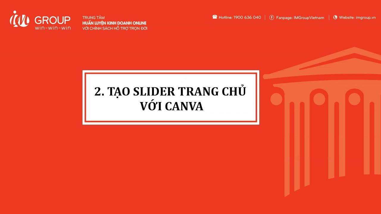 Hướng dẫn sử dụng Canva để chỉnh sửa hình ảnh, tạo logo & banner
