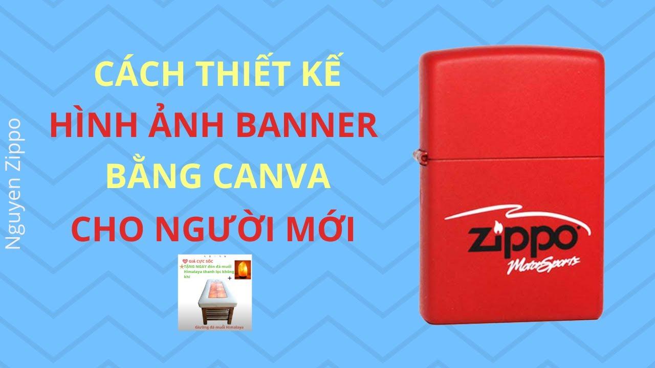 Cách thiết kế hình ảnh banner bằng Canva cho người mới bắt đầu