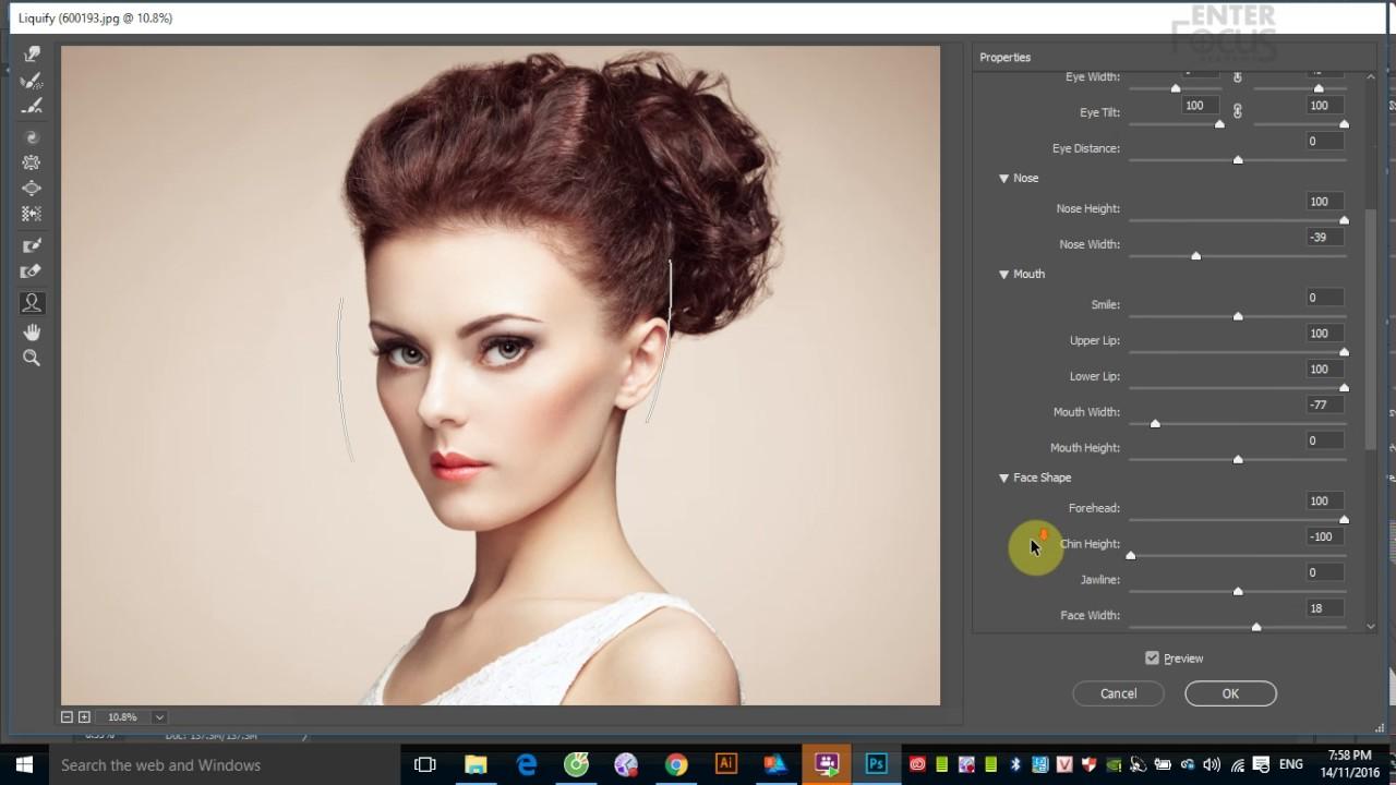 Học Photoshop: Bóp méo hình ảnh với bộ lọc Liquify và cách làm ảnh động
