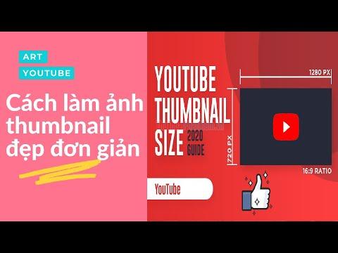 Hướng dẫn làm ảnh Thumbnail ( ảnh thu nhỏ ) video youtube bằng canva trong 3 phút