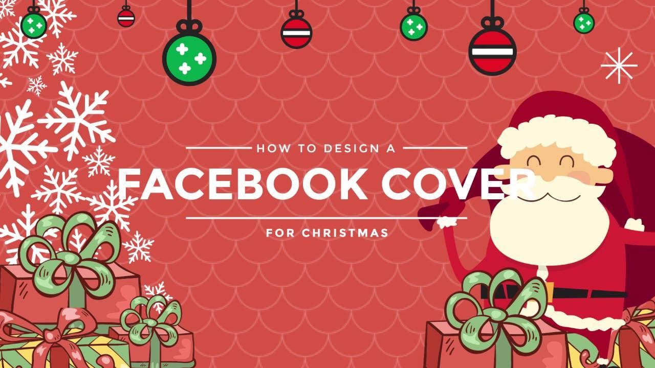 How to Design a Christmas Facebook Cover for Christmas?