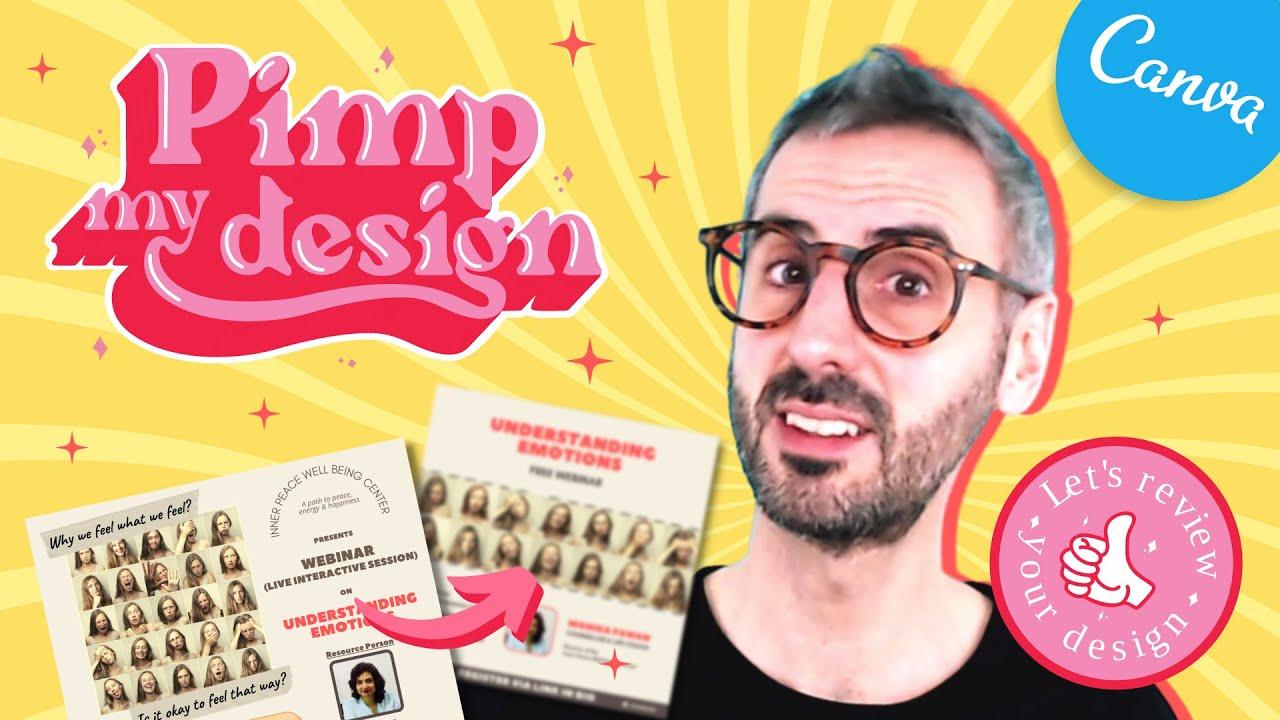 Pimp My Design | Let's Review and Improve YOUR Design [Ep. 01: Ali's Instagram Post]