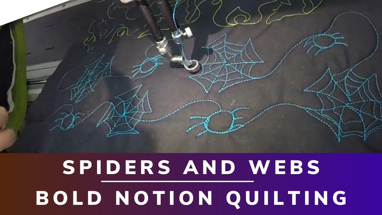 Spiders and webs - Halloween Design