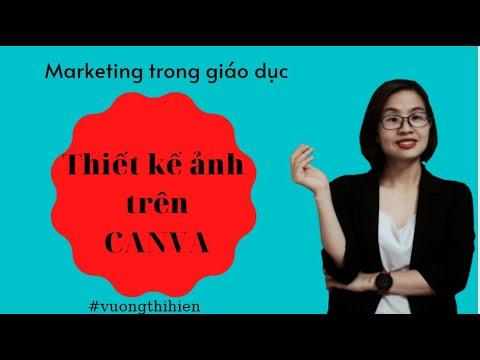 Hướng dẫn tạo thiết kế hình ảnh trên canva | Vương Thị Hiên