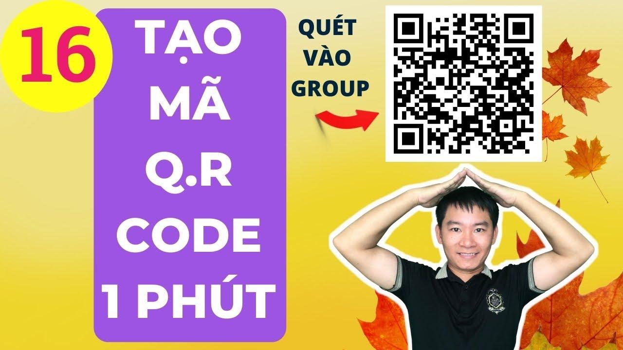 Tạo mã QR code chỉ 1 phút bằng canva - gatiki canva 16