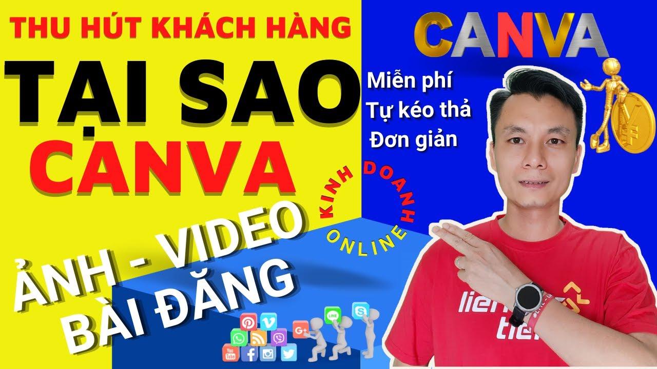 ✅Tại sao Nên dùng Canva tạo ảnh bìa đẹp, ảnh sản phẩm trong kinh doanh đa kênh (2021) | Xuân Khoa