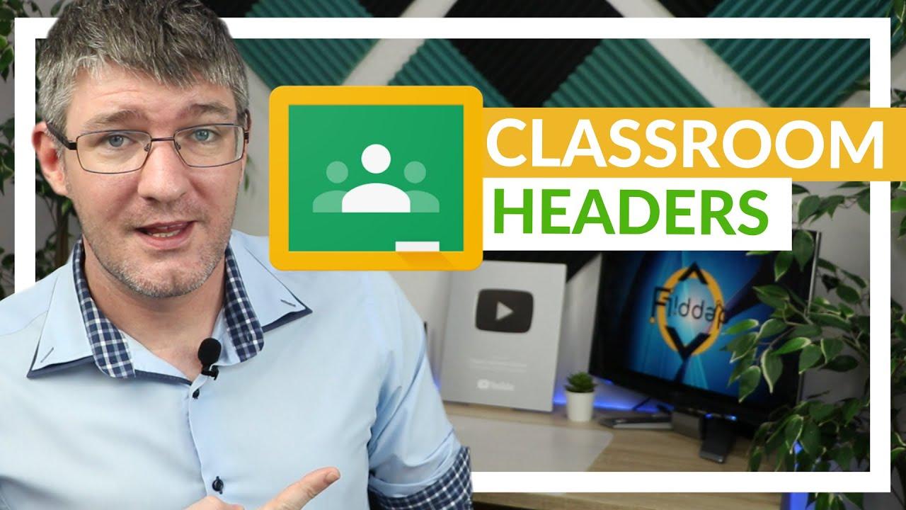 Create a Google Classroom Header in Canva