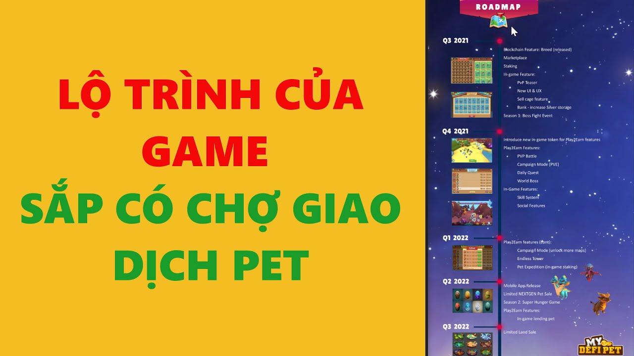 My defi pet- lộ trình phát triển của game- achi kiếm tiền online