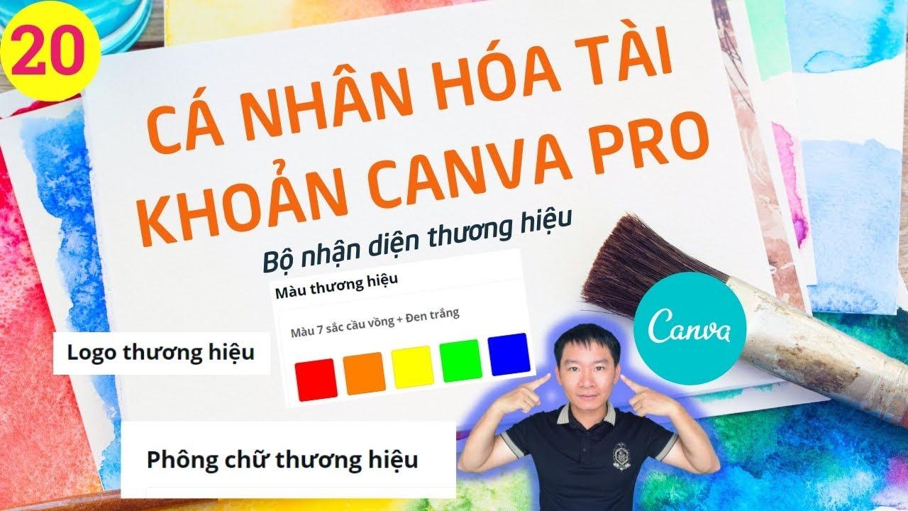 Cách tạo BỘ THƯƠNG HIỆU cho tài khoản CANVA PRO - gatiki canva 20