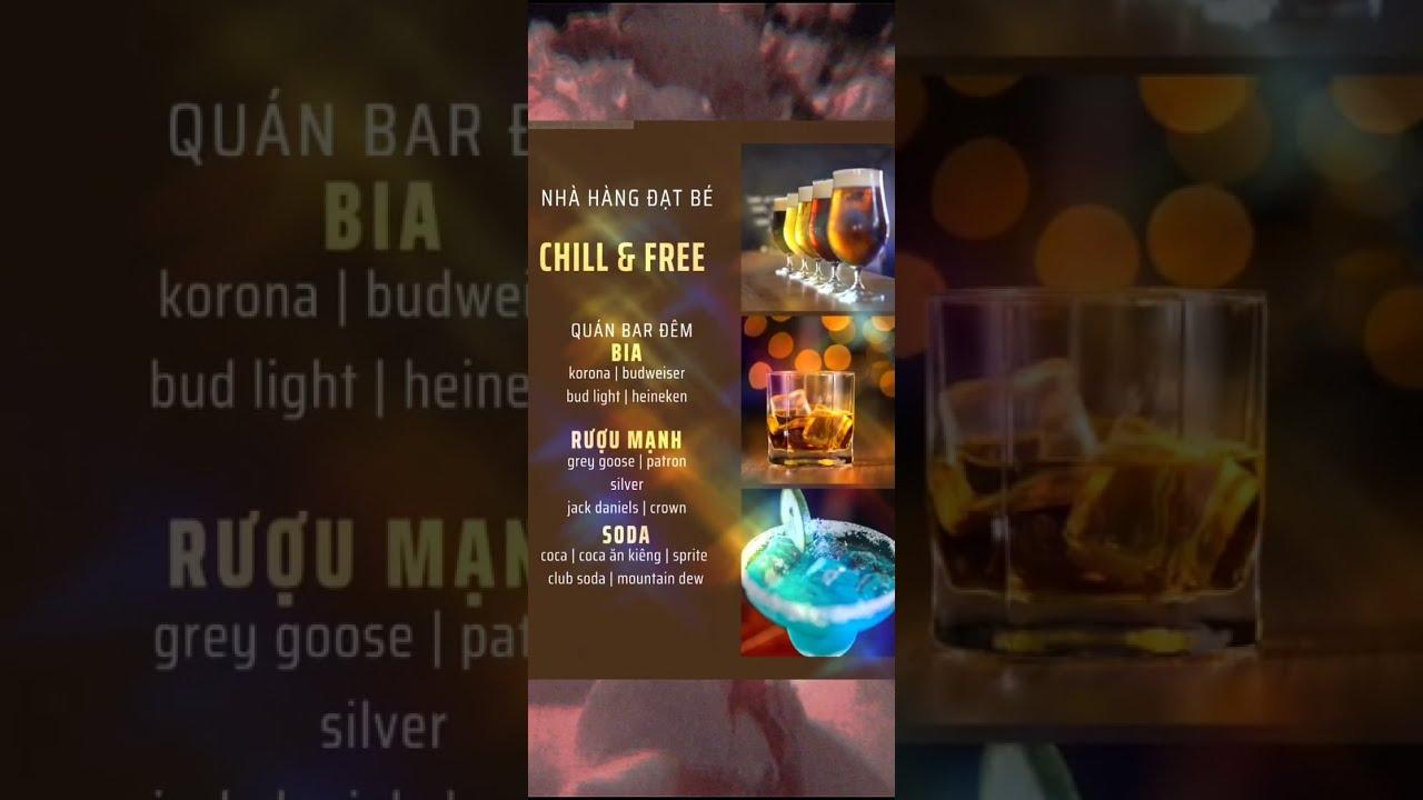 Hướng dẫn làm menu cho quán cafe chỉ với 5 giây l Datcanva