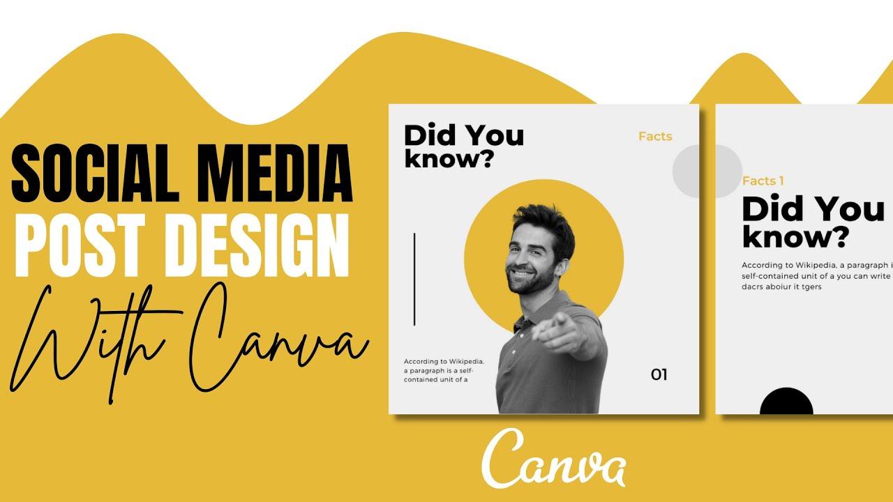 | Social Media Banner Design| Instagram post design in canva | Tutorial | Designtalk | Part 3 |