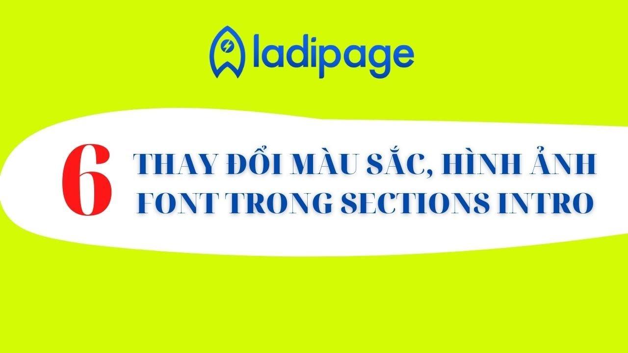 Ladipage Thiết Kế Hình Ảnh Và Hình Nền Cho Sections Intro