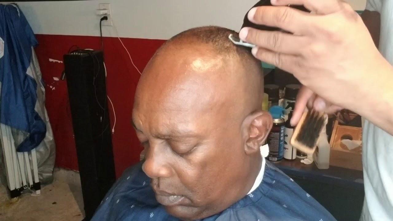 MAGIC: Reseeding hair line bald fade