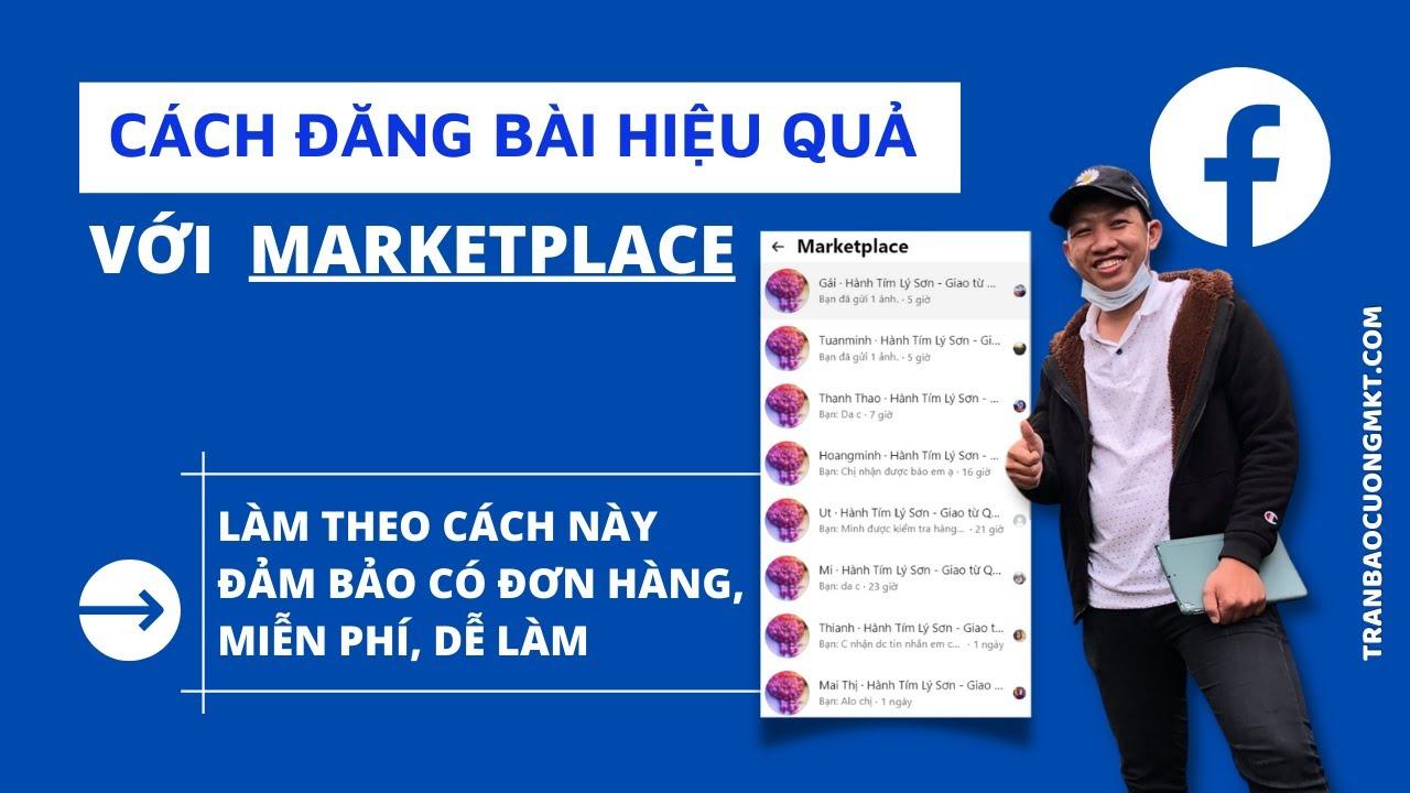 Cách đằng bài marketplace hiệu quả~ 5-10 Đơn 1 ngày | Kiếm tiền với selly