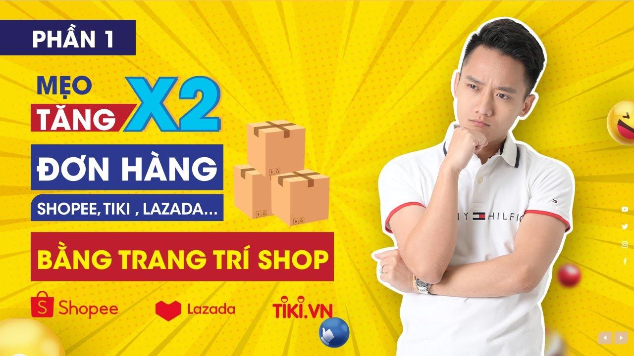 Trang Trí Shop Trên Shopee, Hướng Dẫn Sử Dụng Canva Thiết Kế Logo, Khung Ảnh, Banner   Phần 1