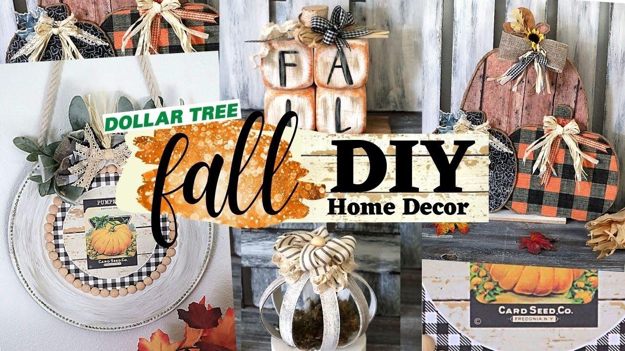 ? NEW FALL DIY Home Decor/NEW Dollar Tree Fall DIY/Dollar Tree Fall DIY 2021/Dollar Tree DIY
