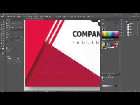 illustrator 2020 - 4 - Vẽ danh thiếp