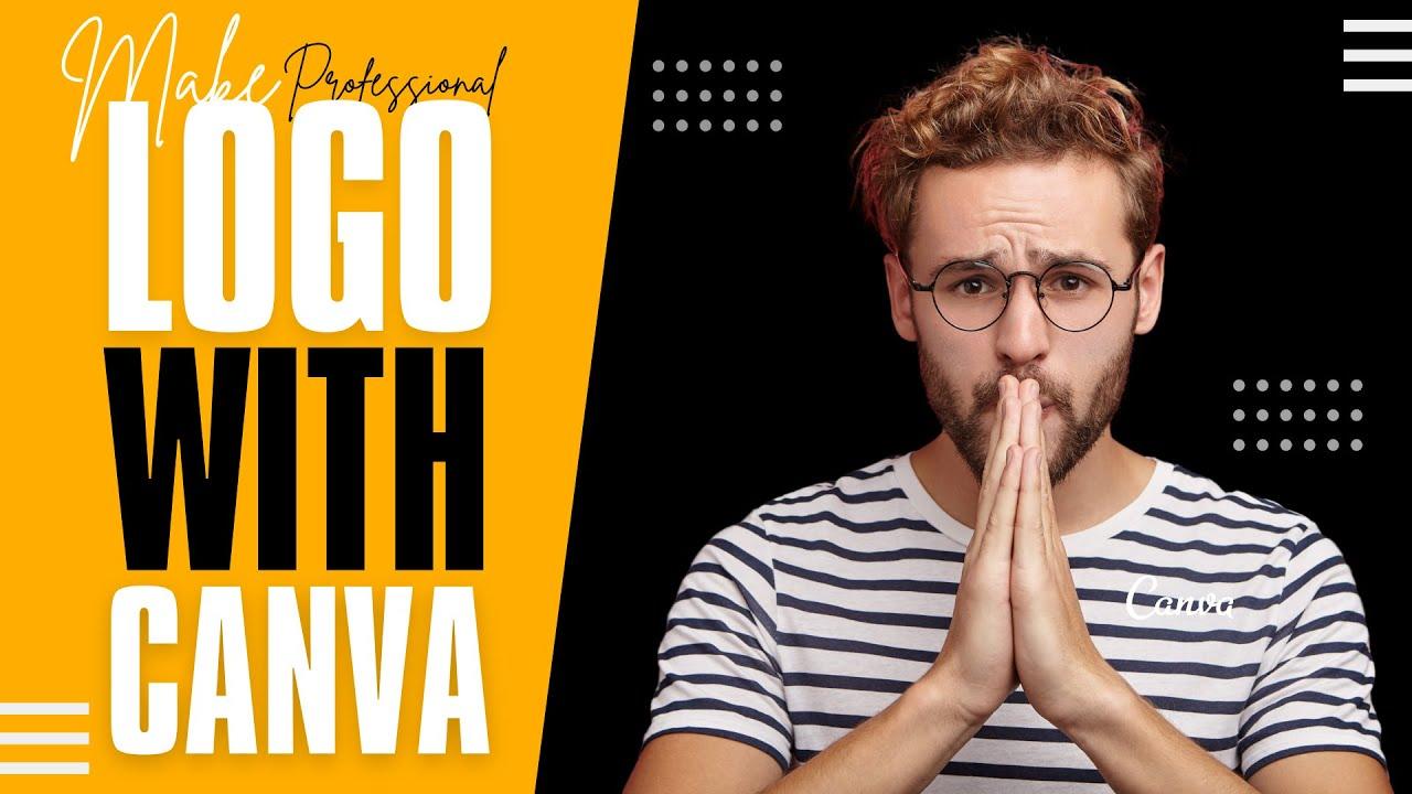How To Make A Professional LOGO With Canva   Canva Tutorial   Design talk   Logo Design   Part 1  