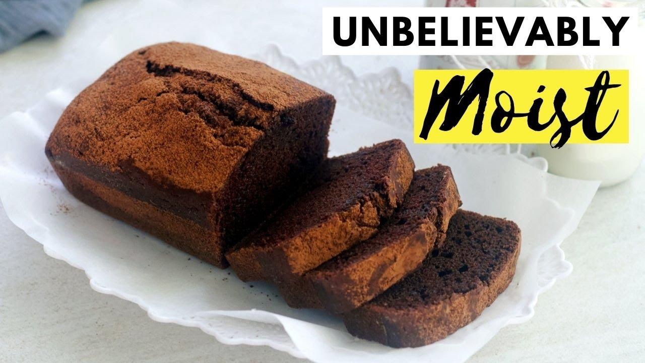 Unbelievably Moist Eggless Chocolate Cake (IMPORTANT TIP ALERT)