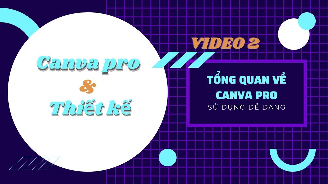 Canva Pro - Video 2 - Giao Diện Tổng Quan Cho Người Mới Bắt Đầu | Doan Nguyen