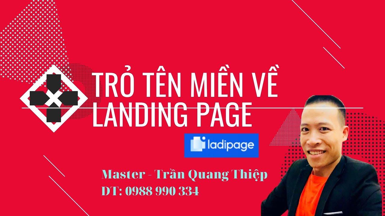 Xuất Bản Landing Với Tên Miền Riêng - Trỏ Tên Miền Về Landing Page  - Master Thiệp