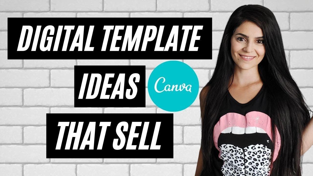 Ý tưởng mẫu kỹ thuật số để tạo trong CANVA và bán trực tuyến