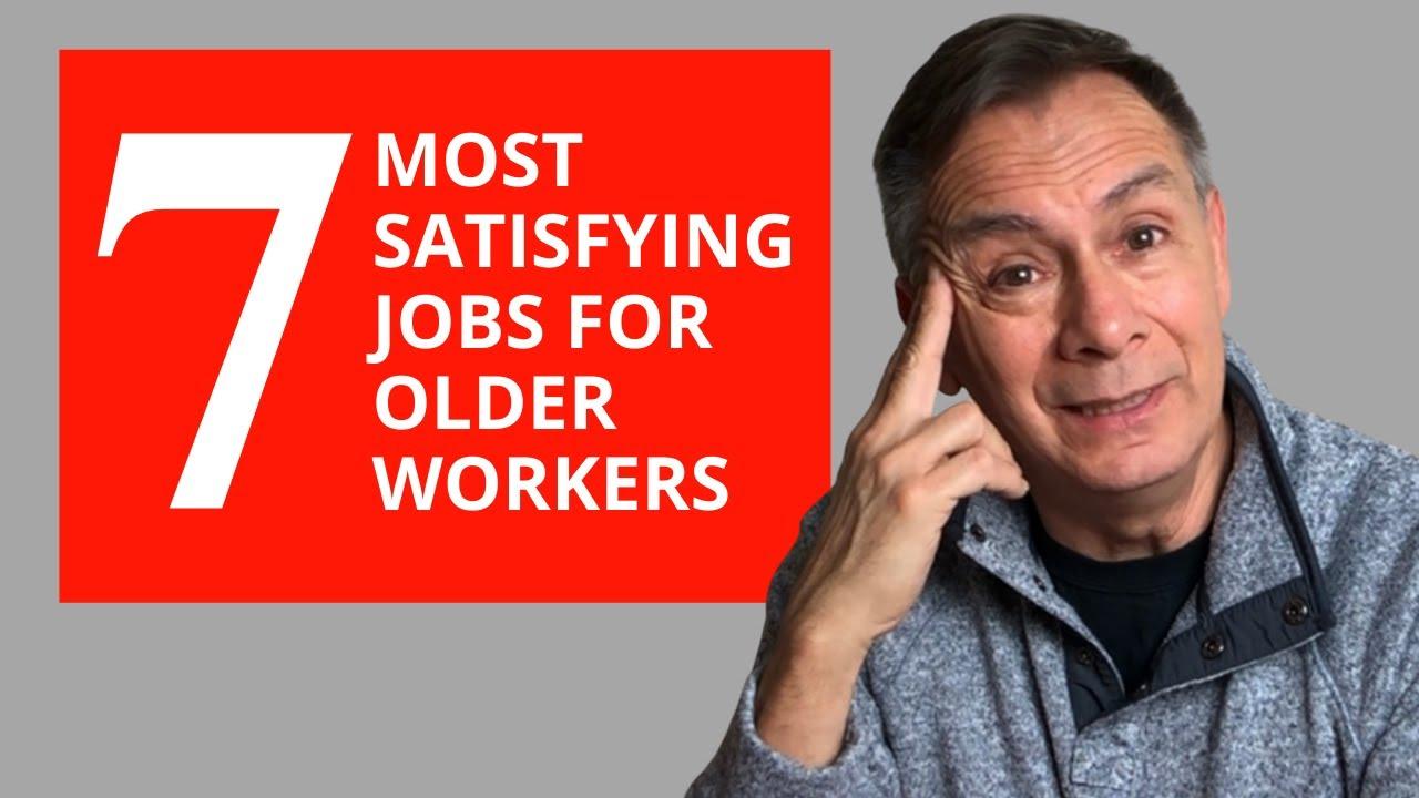 7 công việc hài lòng nhất cho người lao động lớn tuổi