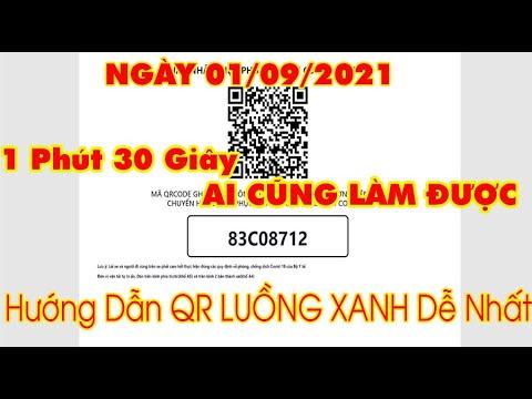 Hướng dẫn từ A đến Z đổi mã QR luồng xanh mới của Bộ Công An. LH: 0989 183 547 - 0949 909698